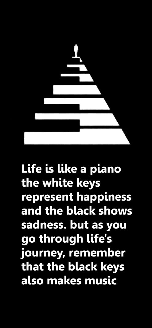 piano metaphor
